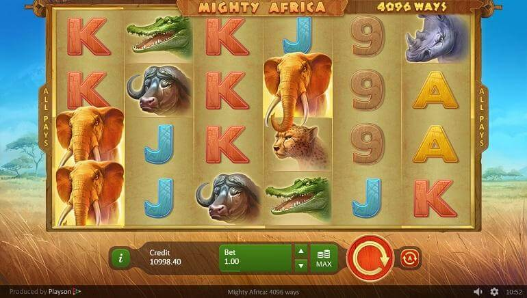 Mighty Africa Slot Bonus