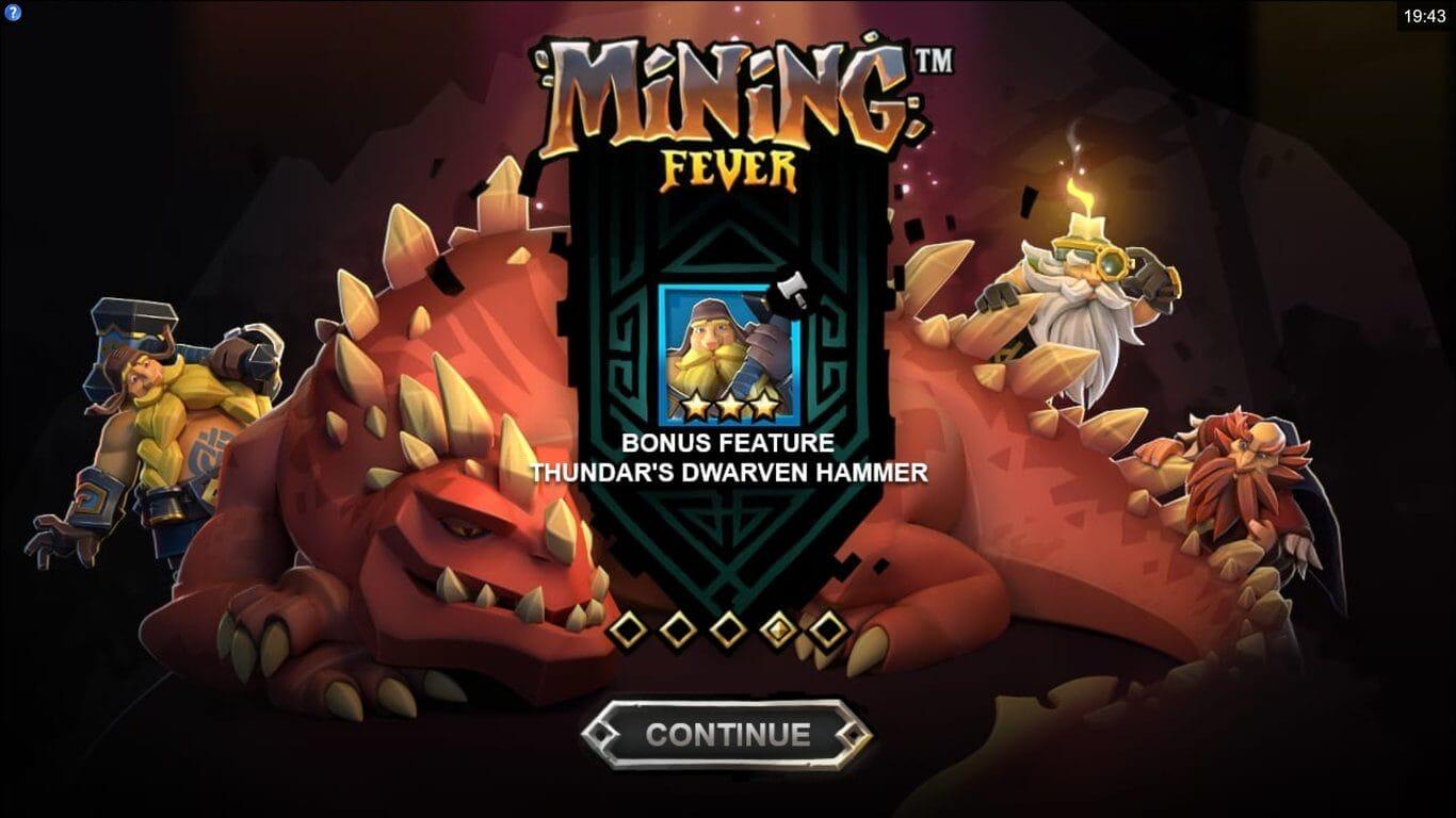 Mining Fever Slot Bonus