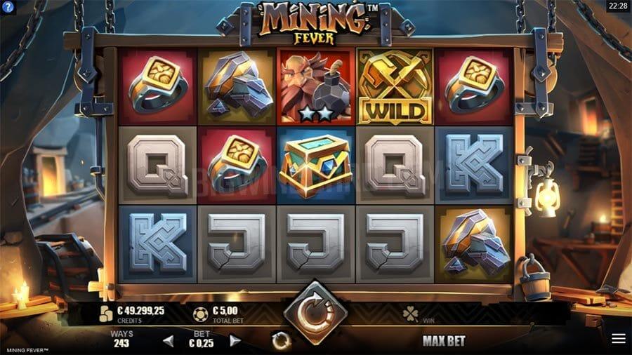Mining Fever Slot Gameplay