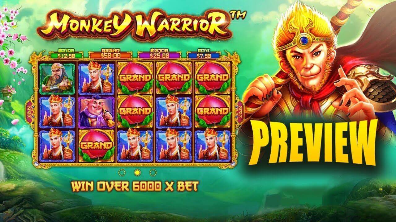 Monkey Warrior Slot Bonus