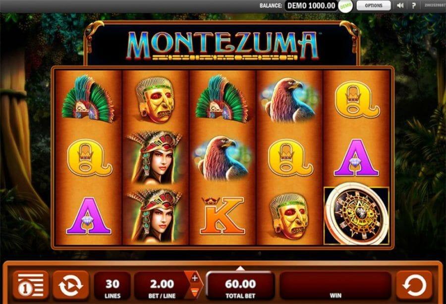 Montezuma Slot Bonus