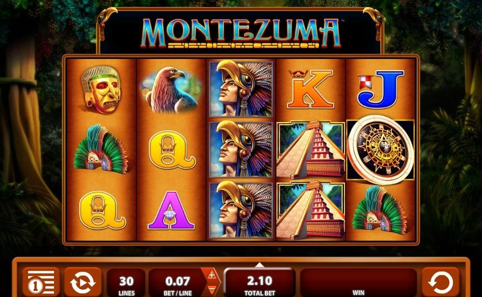 Montezuma Slot Gameplay