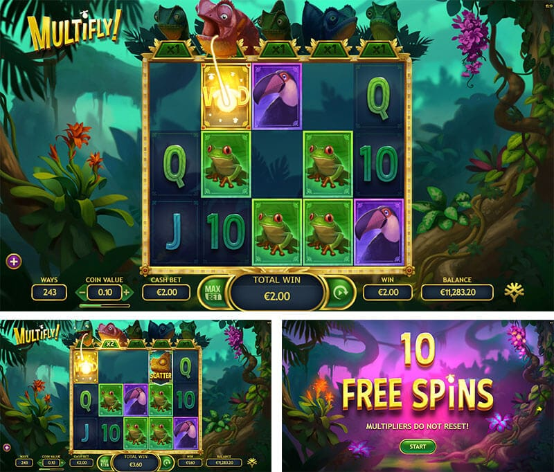 MultiFly Slot Bonus