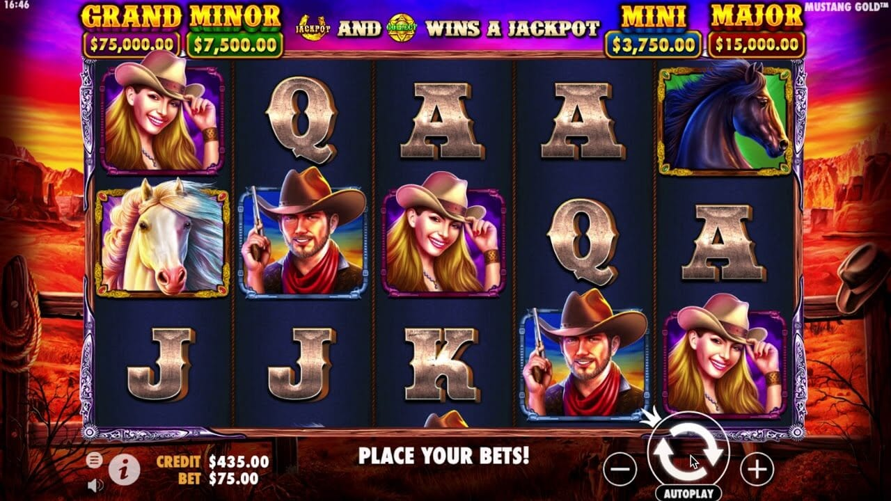 Mustang Gold Slot Gameplay