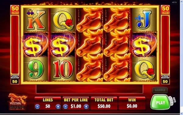 Mustang Money Slot Bonus