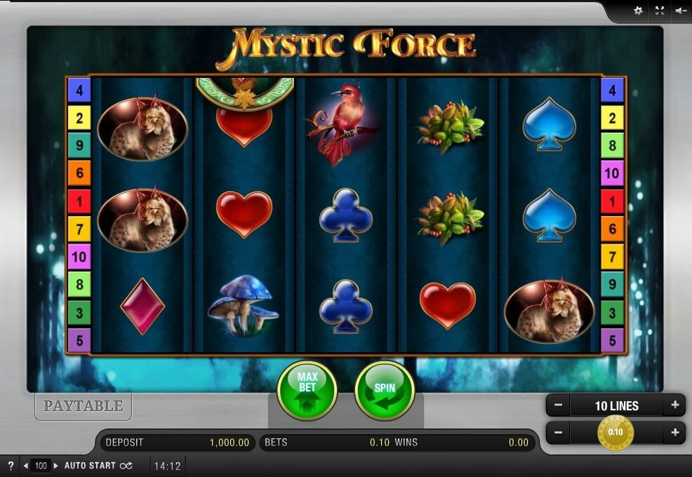 Mystic Force Slot Gameplay