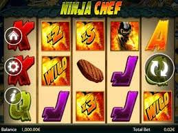 NInja Chef Slot Gameplay