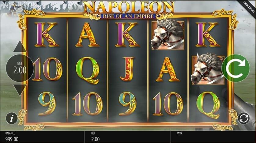 Napoleon Slot Gameplay