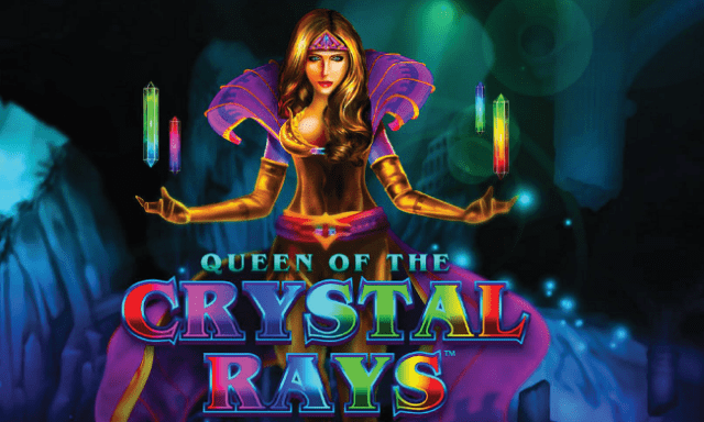 Queen of the Crystal Rays Slot Logo
