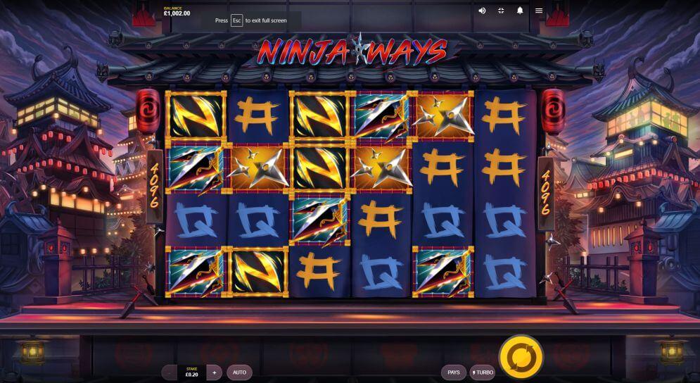 Ninja Ways Slot Bonus