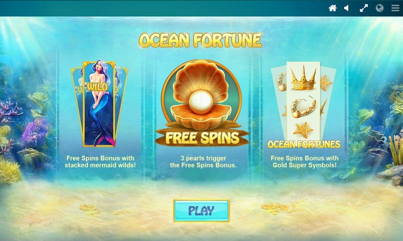 Ocean Fortune Slot Bonus