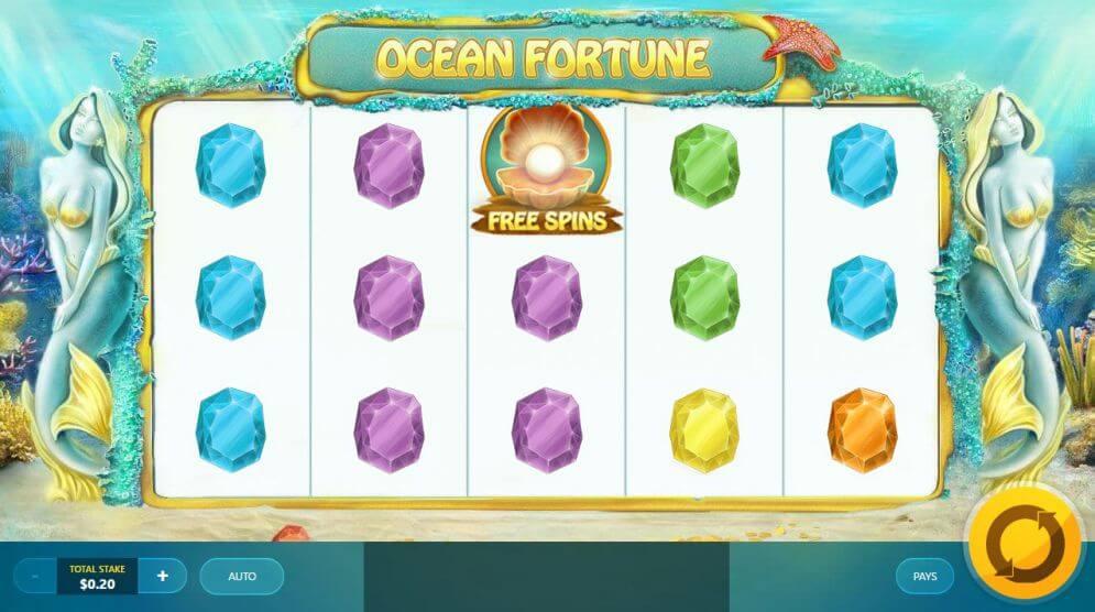 Ocean Fortune Slot Gameplay