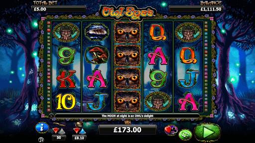Owl Eye Slot Bonus