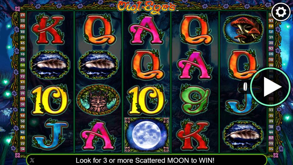Owl Eye Slot Gameplay