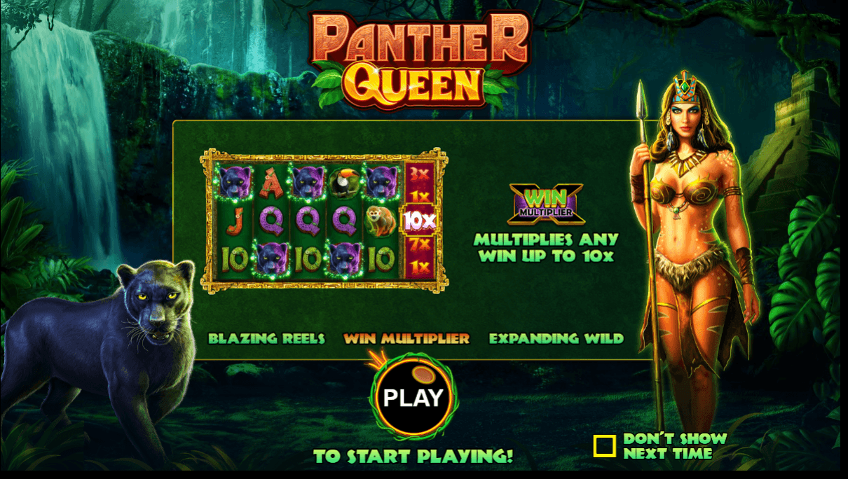 panther queen slots game