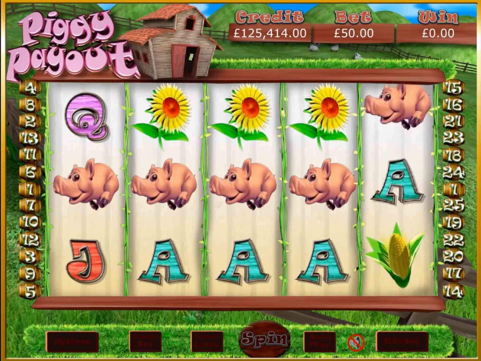 Piggy Payout Slot Gameplay