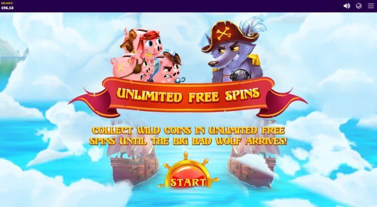 Piggy Pirates Slot Bonus