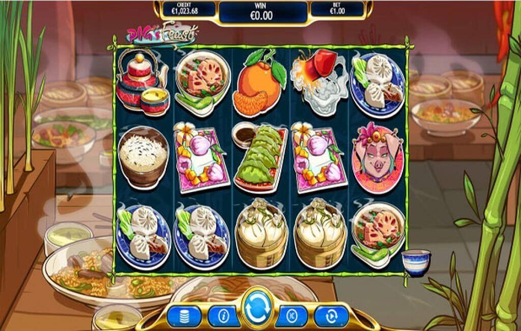 Pig's Feast Slot Bonus