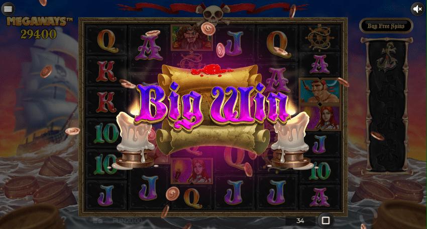 Pirate Kingdom MegaWays Slots Big Win