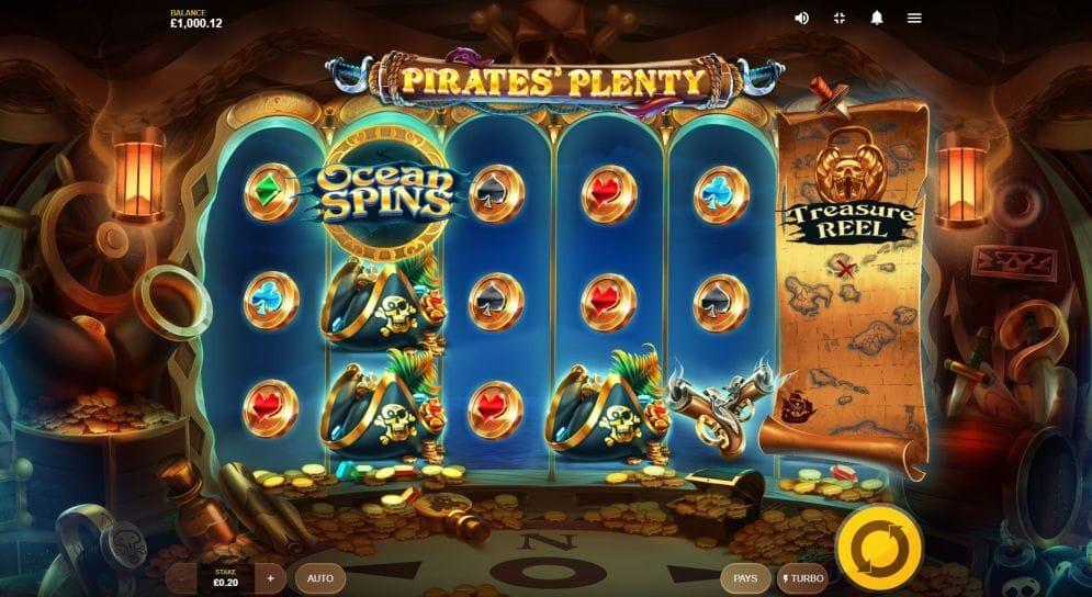 Pirates Plenty Slot Gameplay