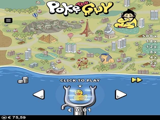 Poke the Guy Gameplay