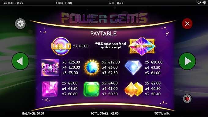 power gems gameplay casino barbados bingo