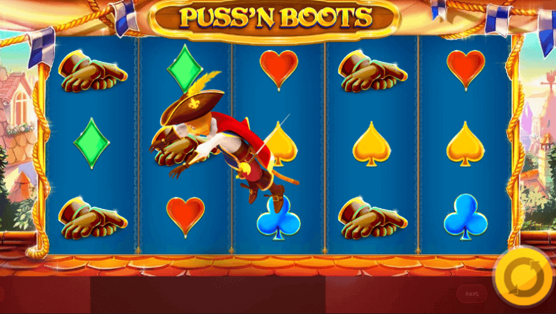 Puss n Boots Slot Gameplay