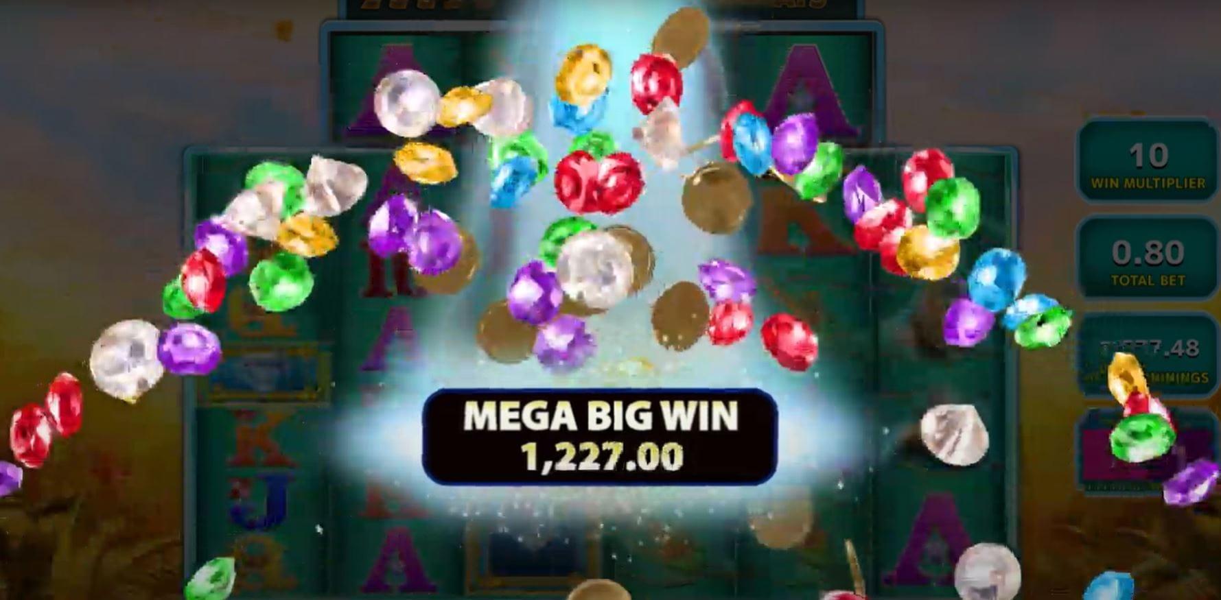 Raging Rhino Megaways Win