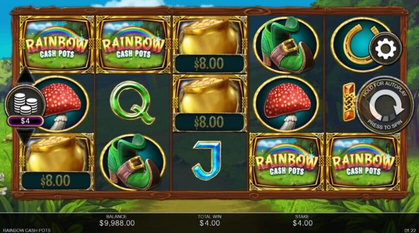 Rainbow Cash Pots Slot Bonus