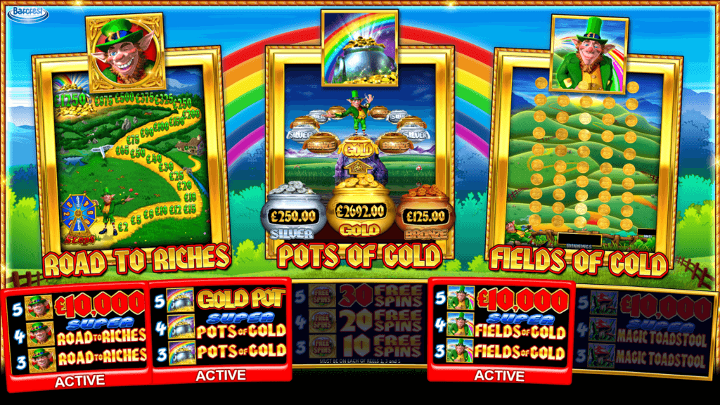 Rainbow Riches Pick n Mix Bonus
