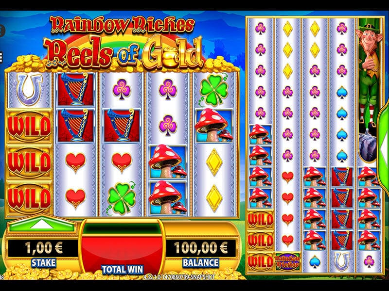 Rainbow Riches Reels of Gold Bonus