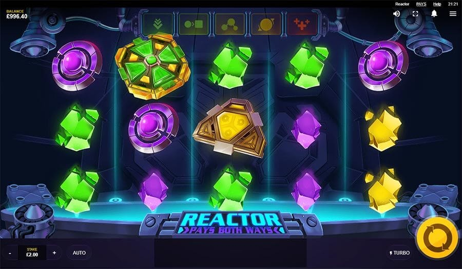 Reactor Slot Gameplay