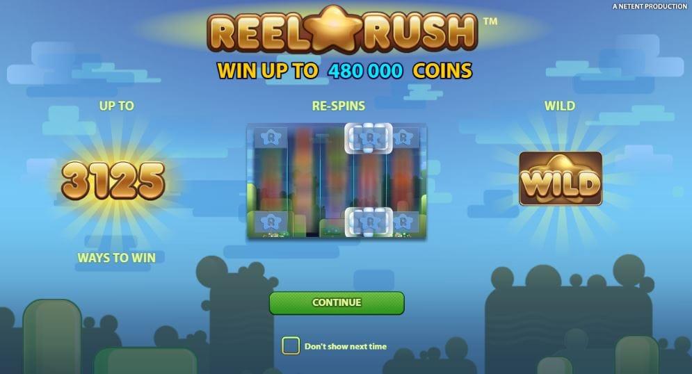 Reel Rush Intro