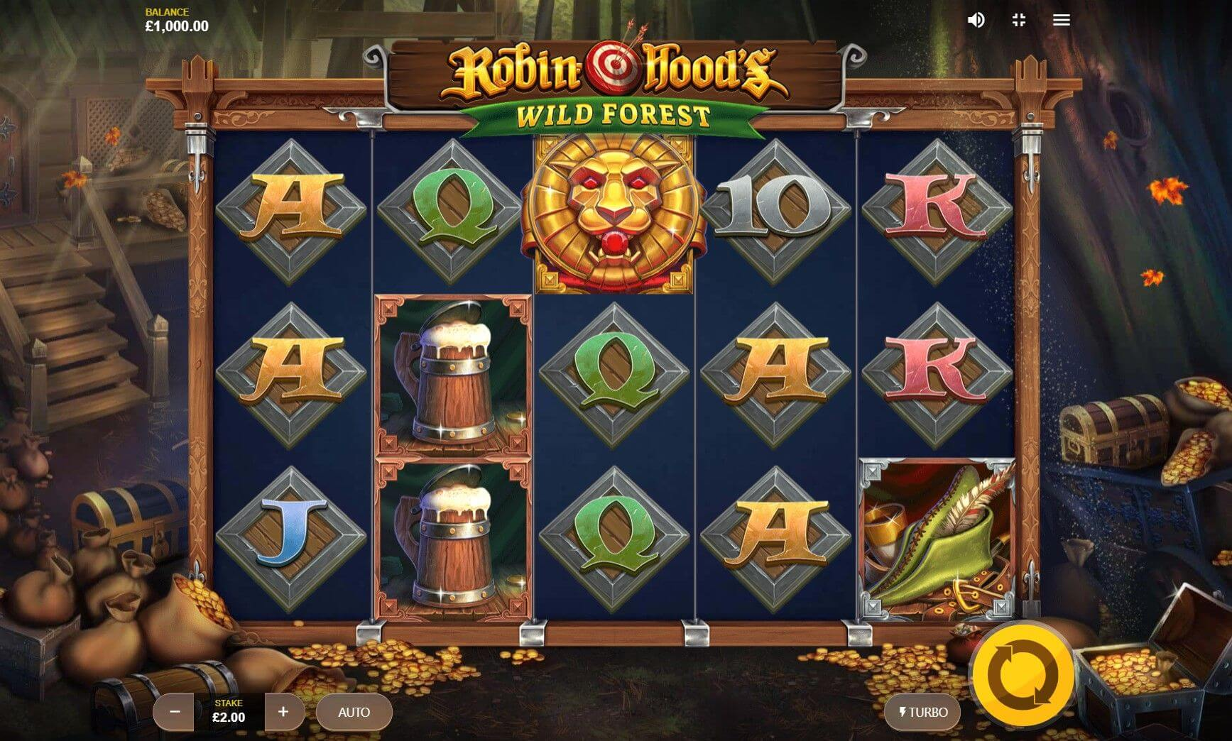 Robin Hood Slot Gameplay