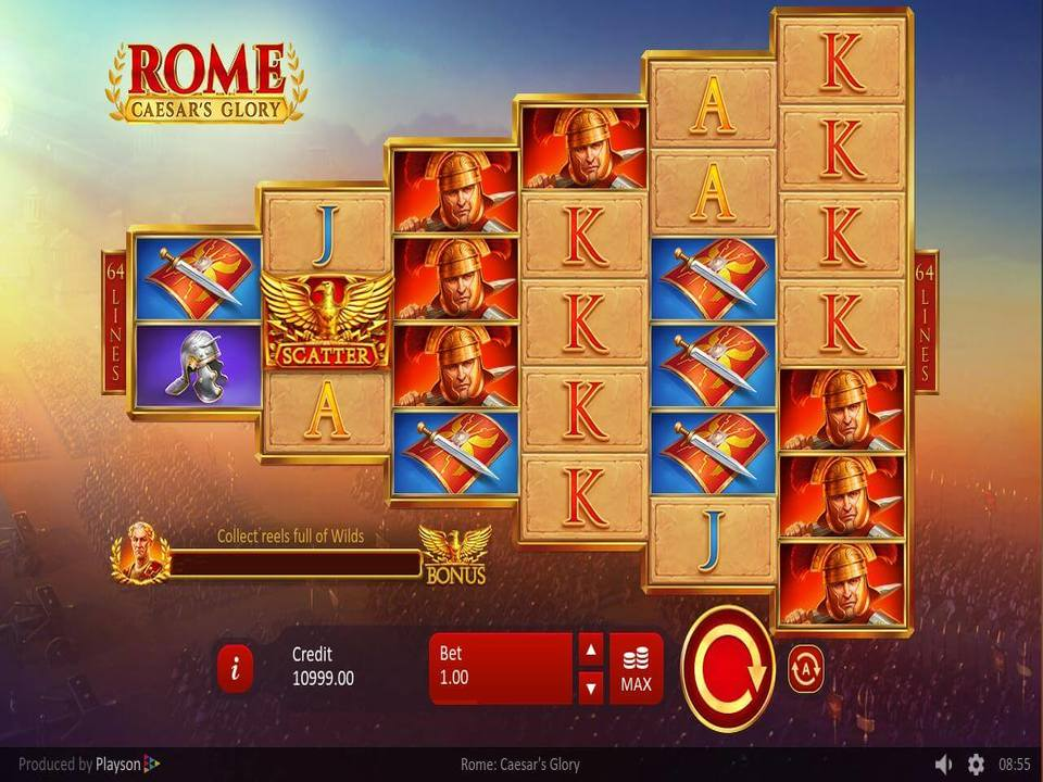 Rome: Ceasar's Glory Slots Online