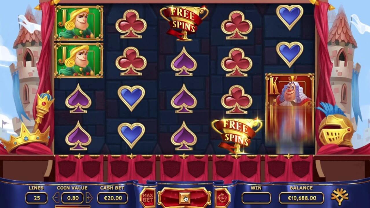 Royal Family Slot Bonus