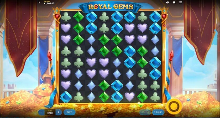Royal Gems Slot Bonus