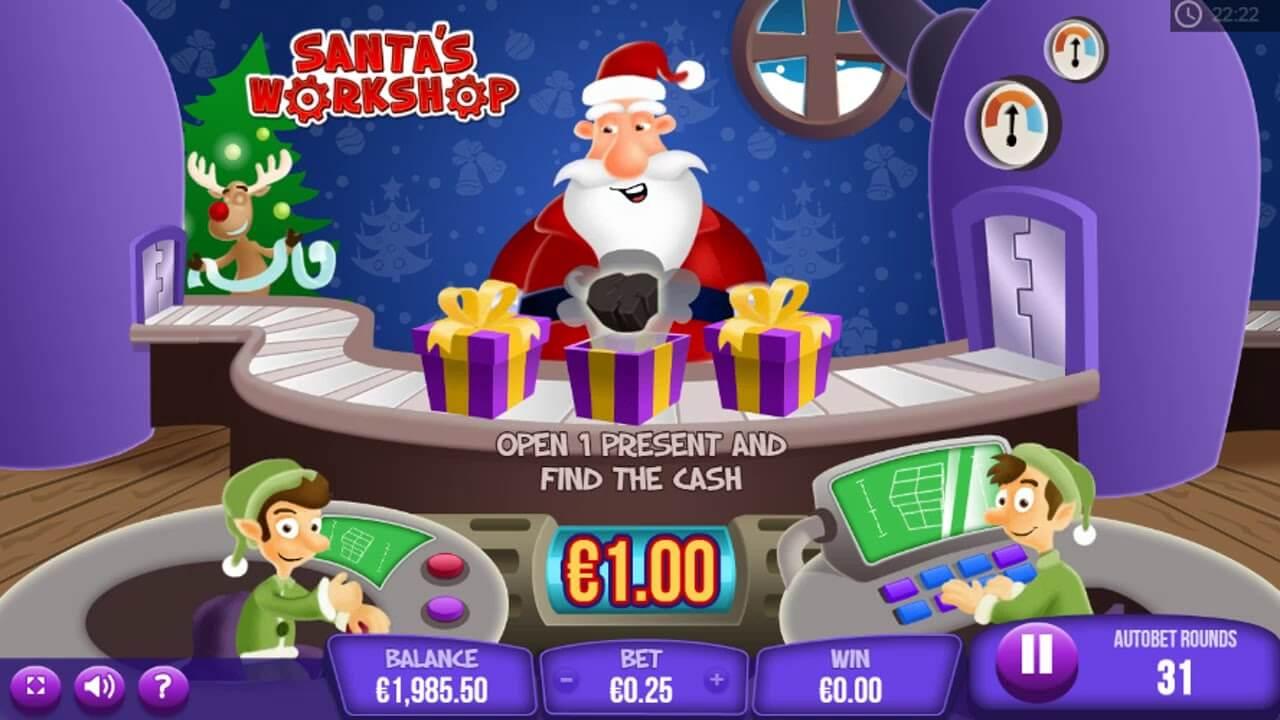 Santas Workshop Gameplay