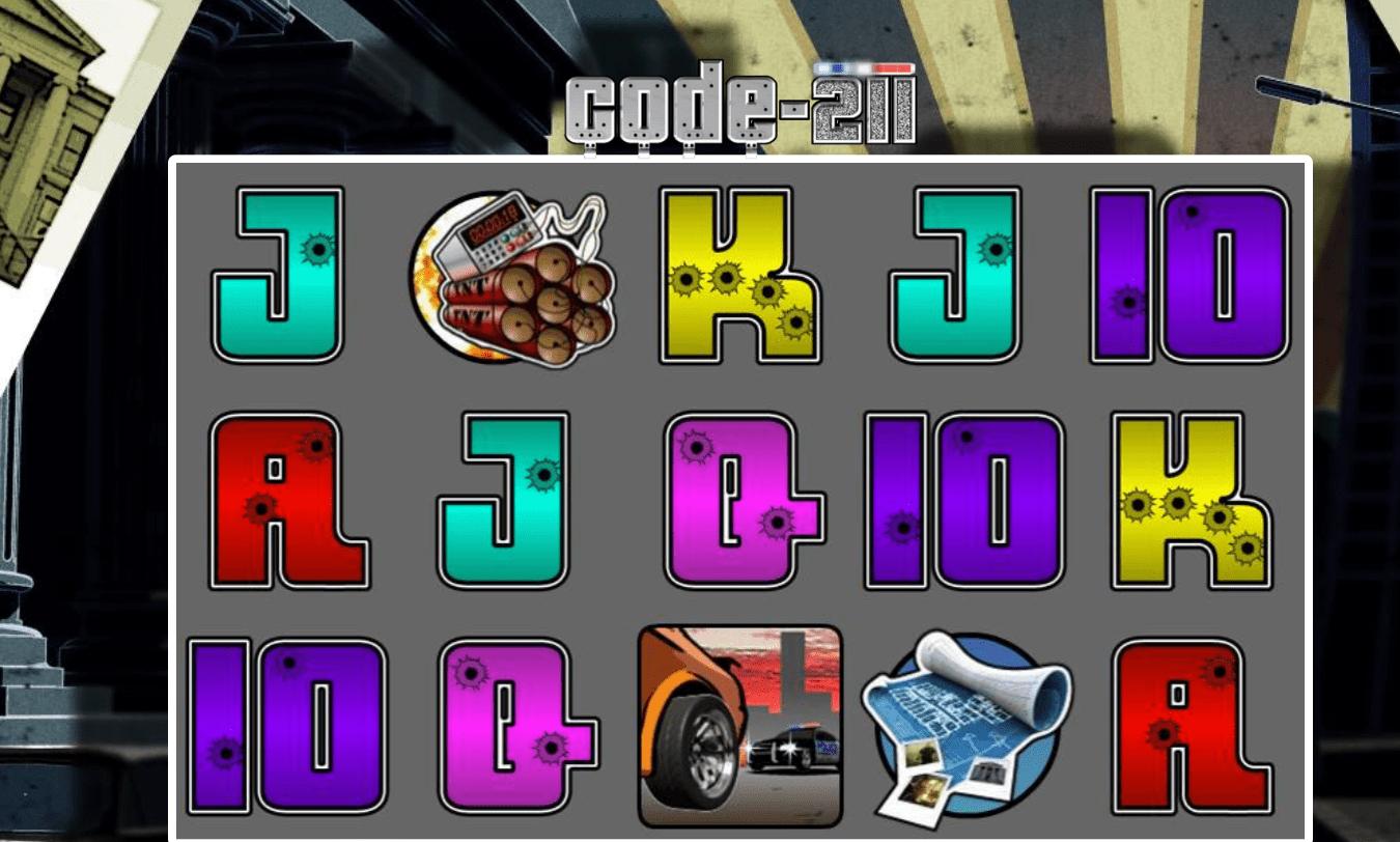 code 211 game slots