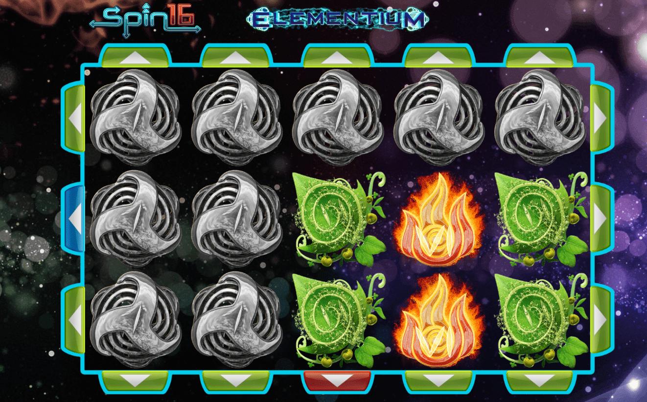 Elementium Spin 16 Slot Gameplay