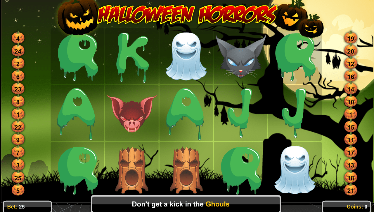 halloween horrors game online play