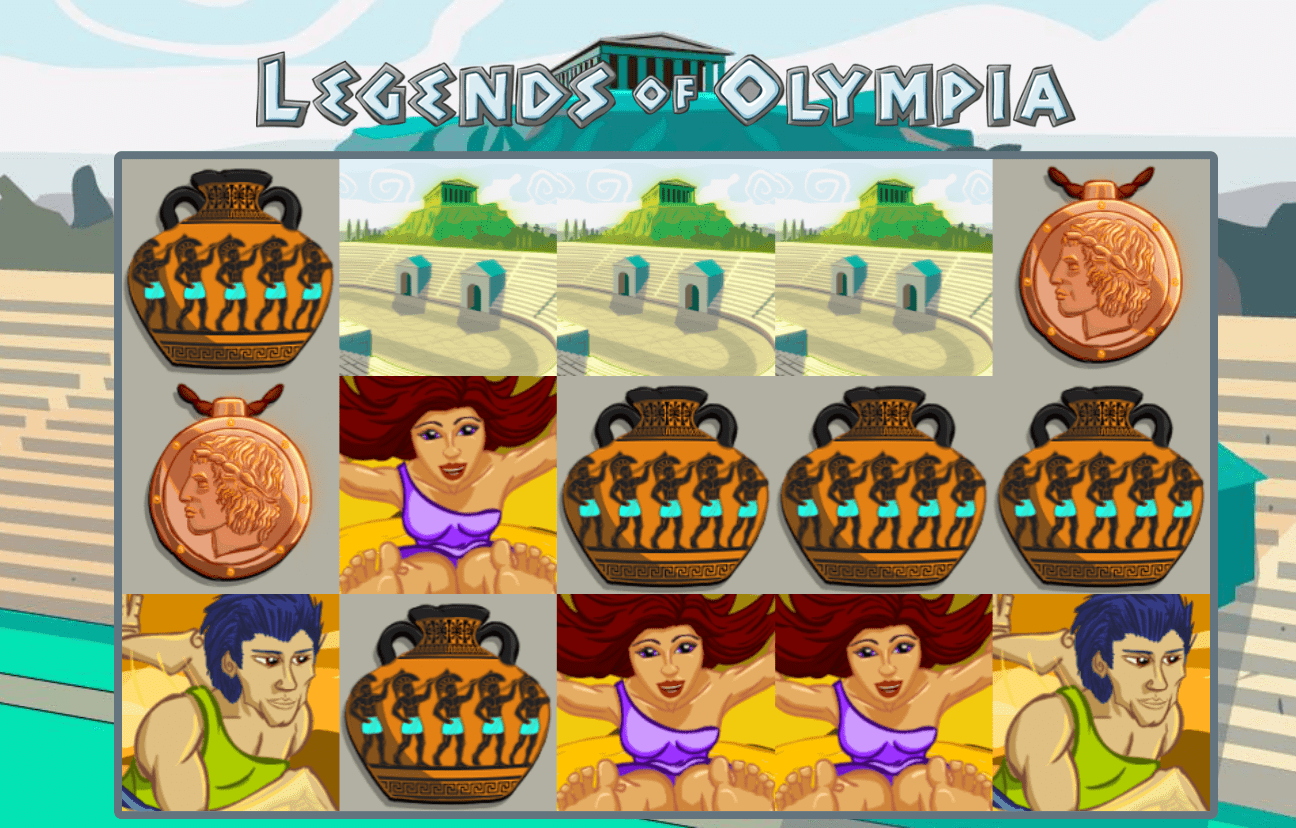 legends of olympia slots game online
