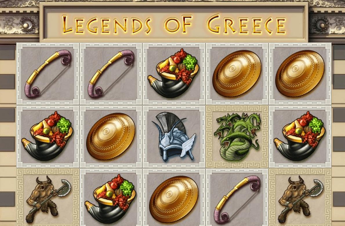 legends of greece game online