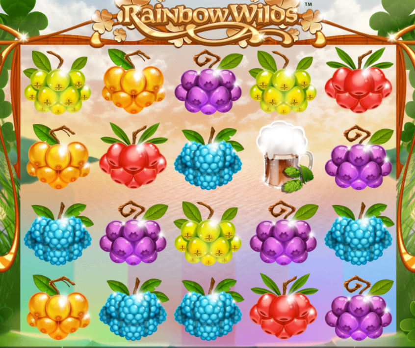 rainbow wilds game slots online