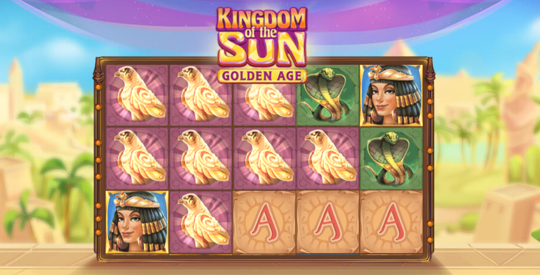 kingdom of the sun slots game