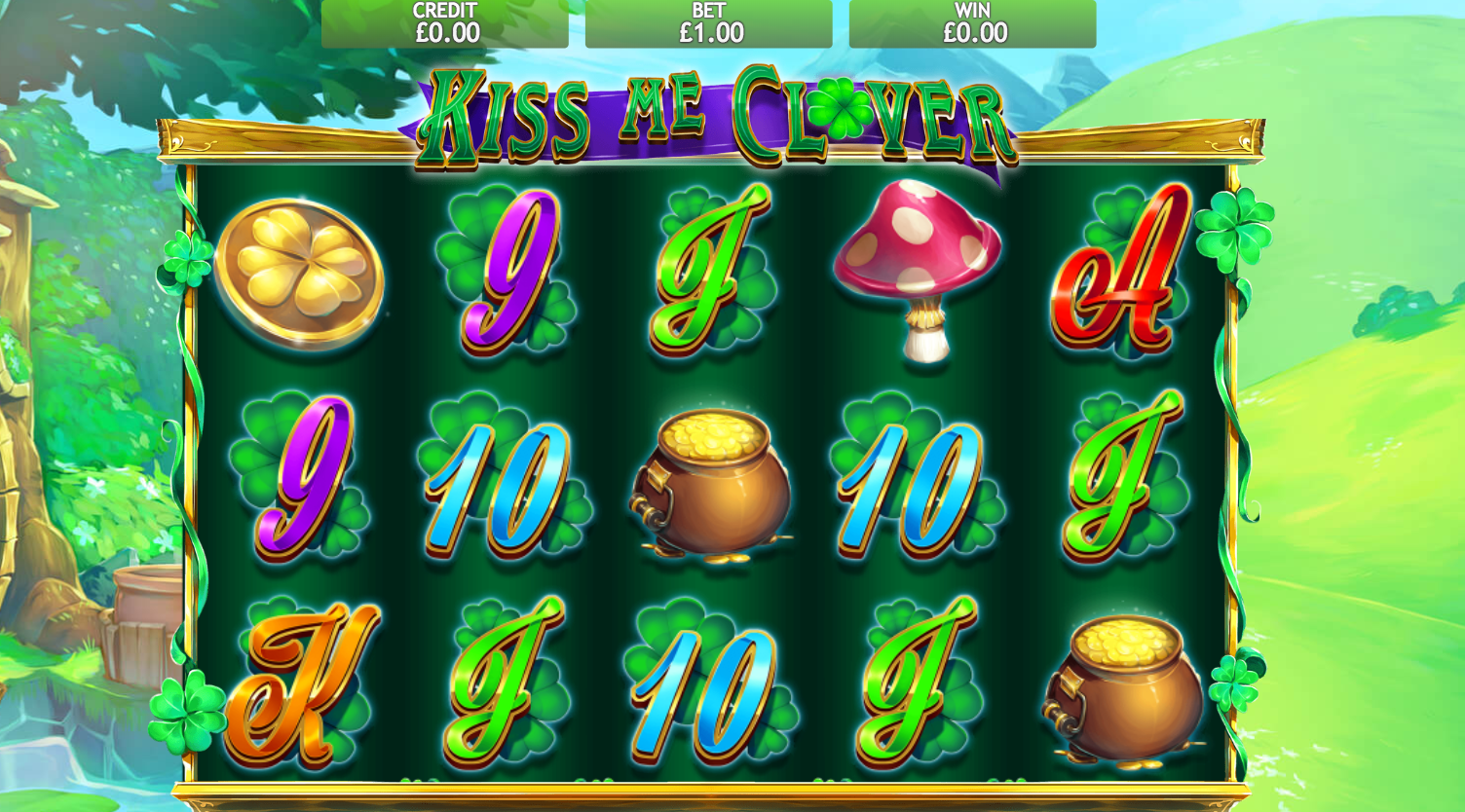 kiss me clover game slots online