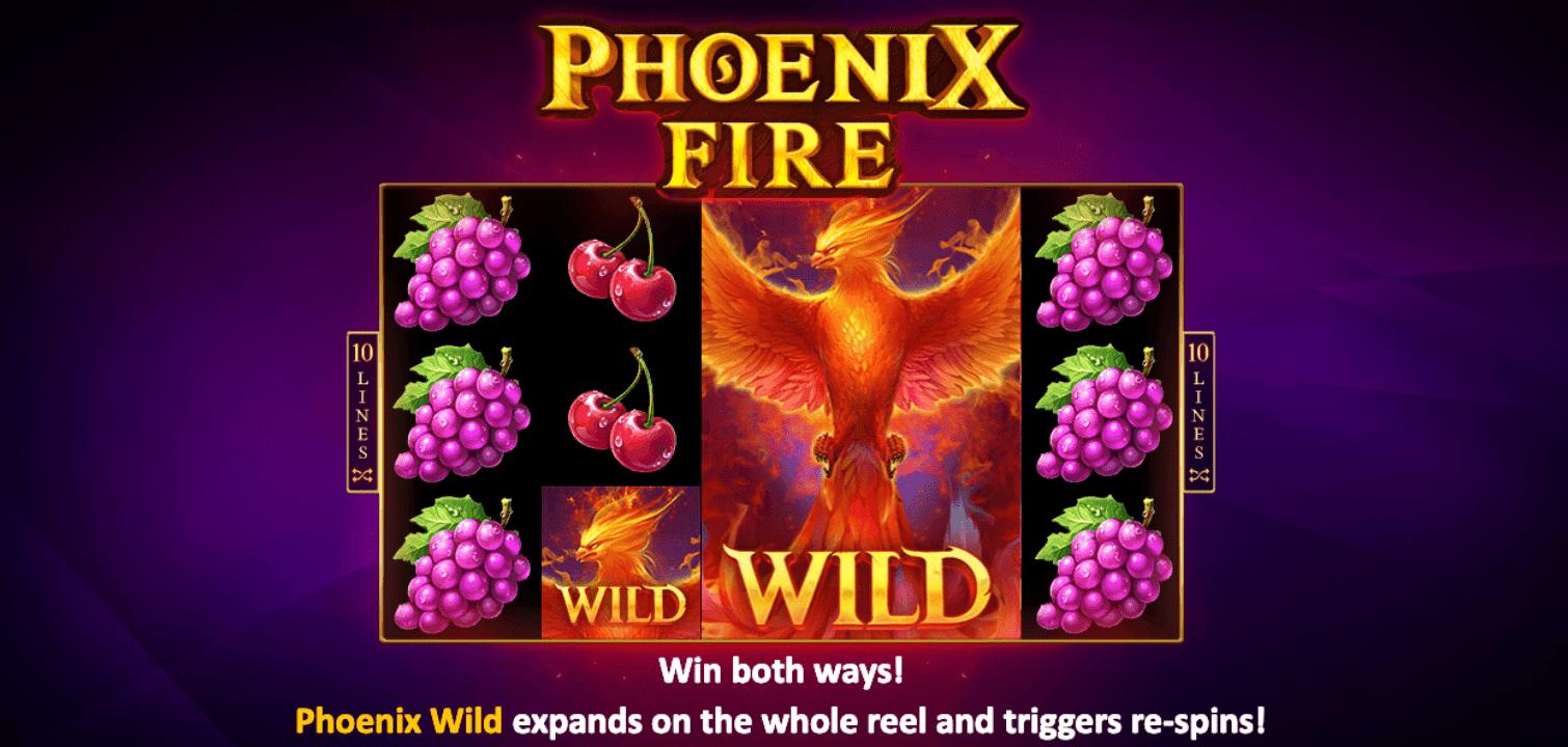phoenix fire casino slot game