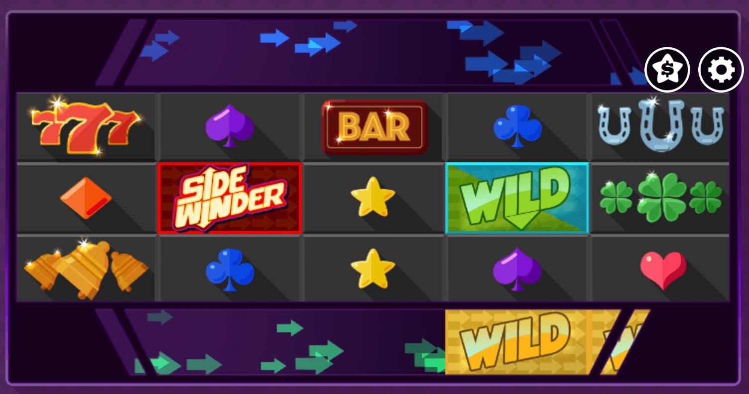 sidewinder online casino slots game
