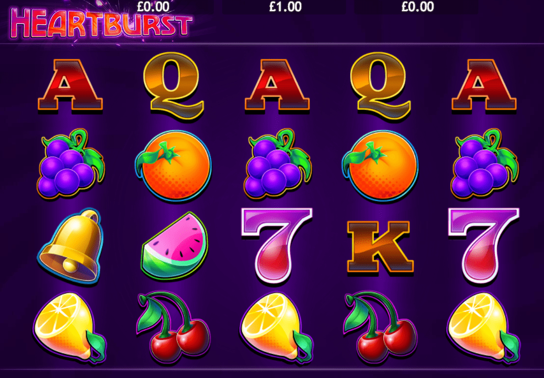 heartburst online casino game