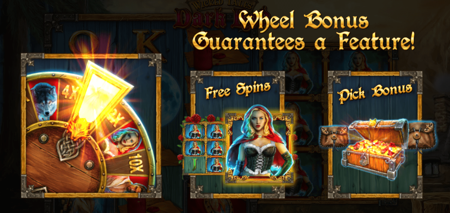 wicked tales dark red casino slots